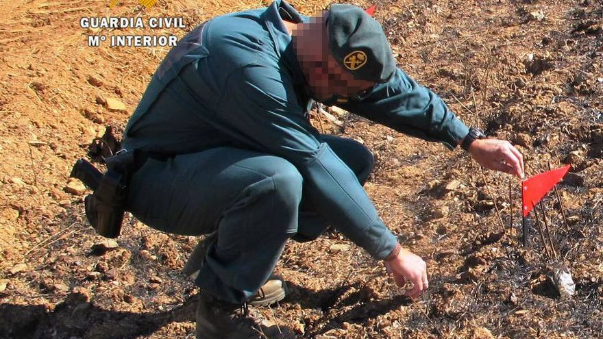 La Guardia Civil identifica al presunto autor del incendio de Fermoselle