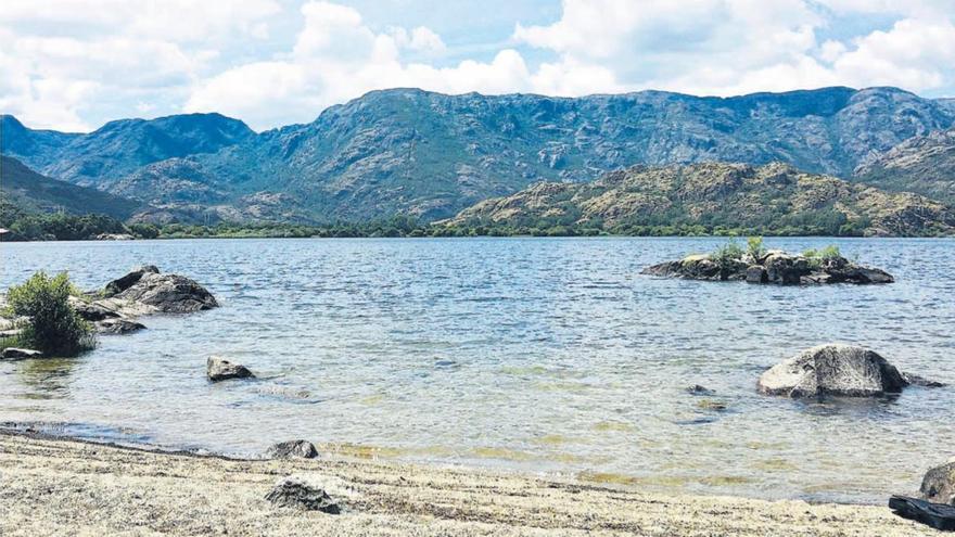El Lago de Sanabria, en primavera.