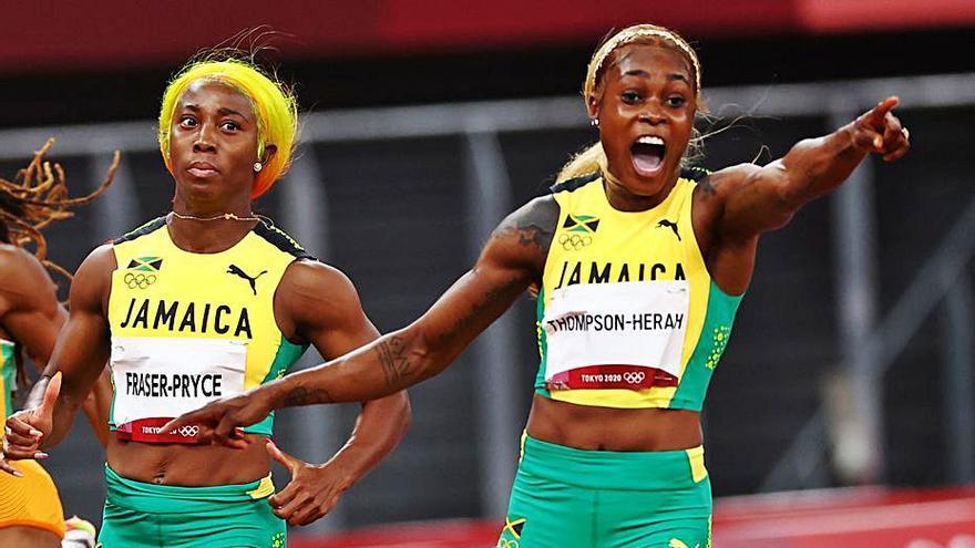 Elaine Thompson reté el títol dels 100 metres i lidera la tirania jamaicana