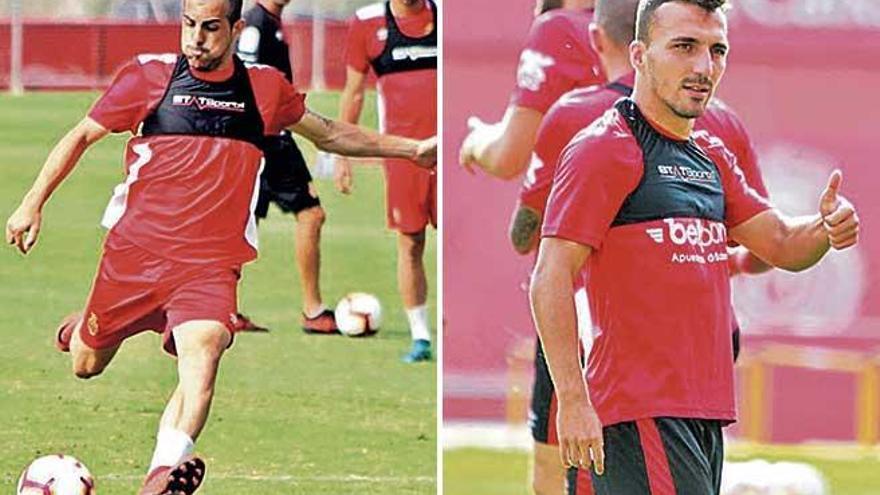 El Mallorca escuchará ofertas  por Castro y Valcarce en enero