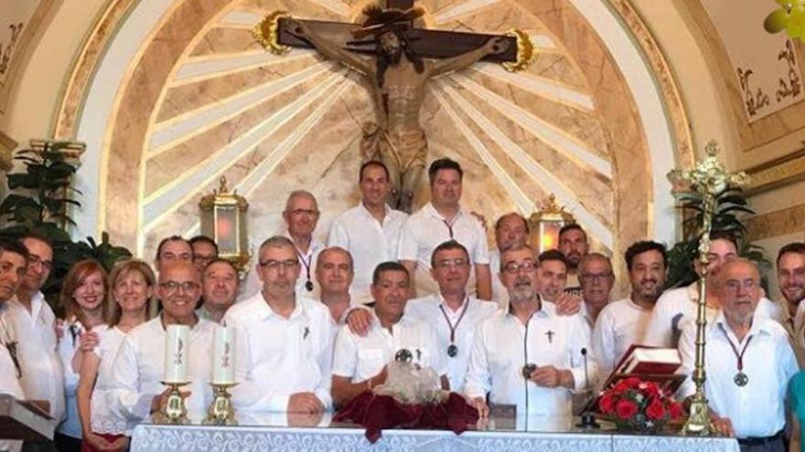 Un cupón de la ONCE dedicado al Cristo de Petrer