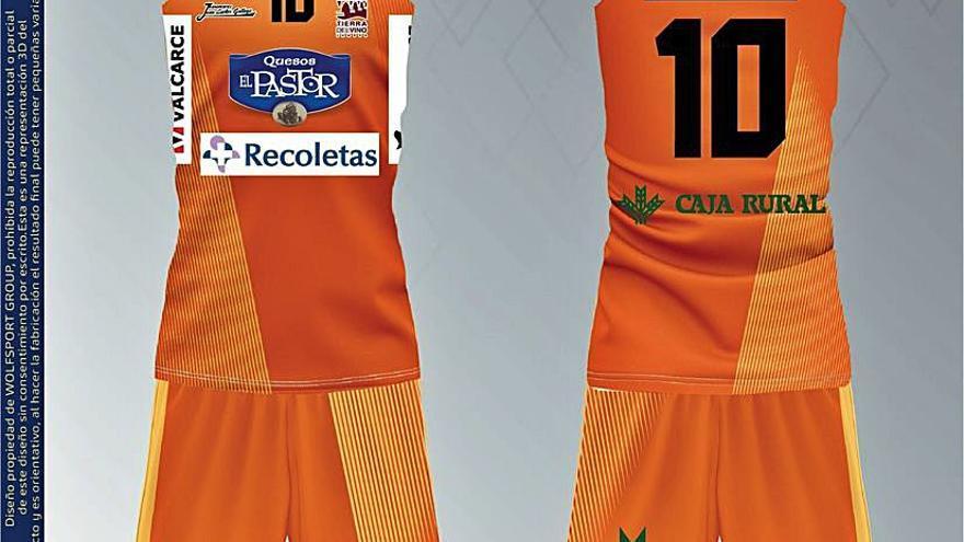 El CD Zamarat presenta la nueva equipación de su primer equipo