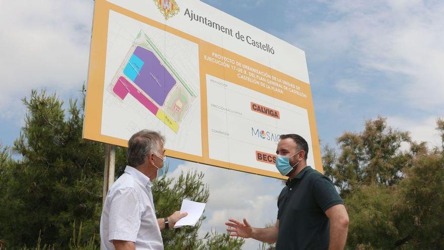 Castelló tendrá una nueva zona verde de más de 6.000 m² junto a la avenida Ferrandis Salvador