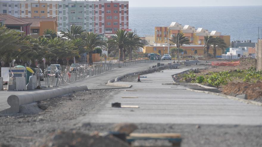Lopesan prepara el plan de seguridad para retomar  las obras de la  vía de Melenara
