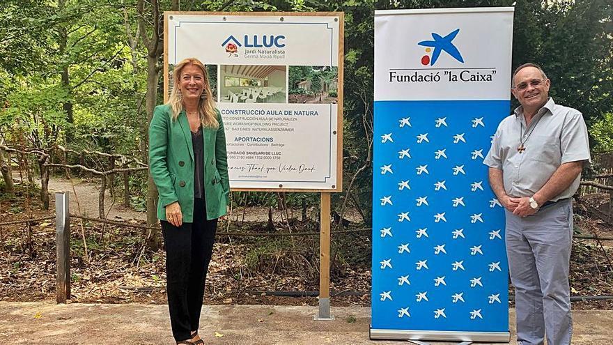 Lluc y La Caixa, unidos en el Jardí Naturalista