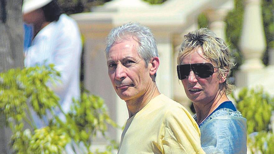Mallorca, el oasis de Charlie Watts a 2.400 euros la noche durante la gira española de 2003