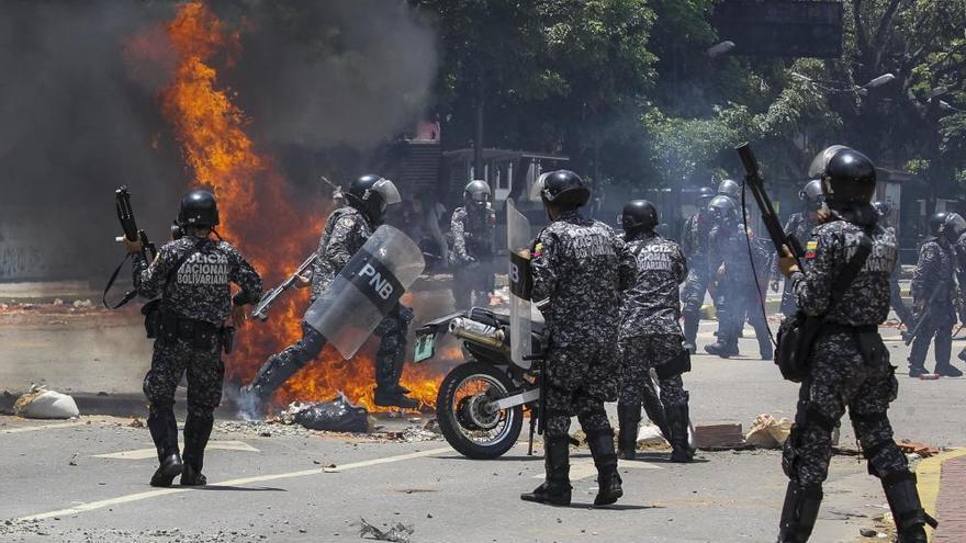 La violencia se apodera de las calles de Venezuela