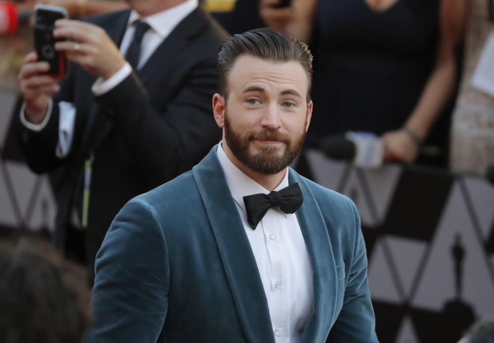 El actor Chris Evans.