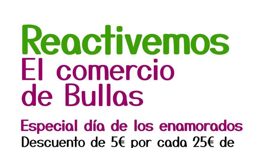 """La Concejalía de Comercio lanza la campaña """"Reactivemos el comercio de Bullas"""""""