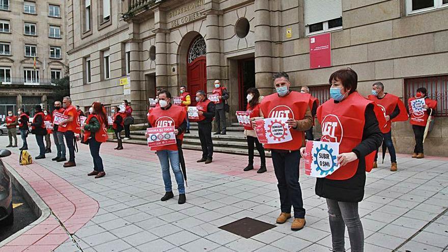 Protesta para que se derogue la Ley de Reforma Laboral