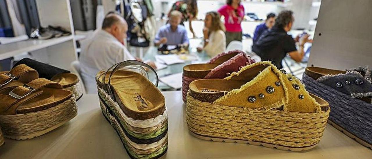 Un certamen de calzado, en una imagen de archivo.  