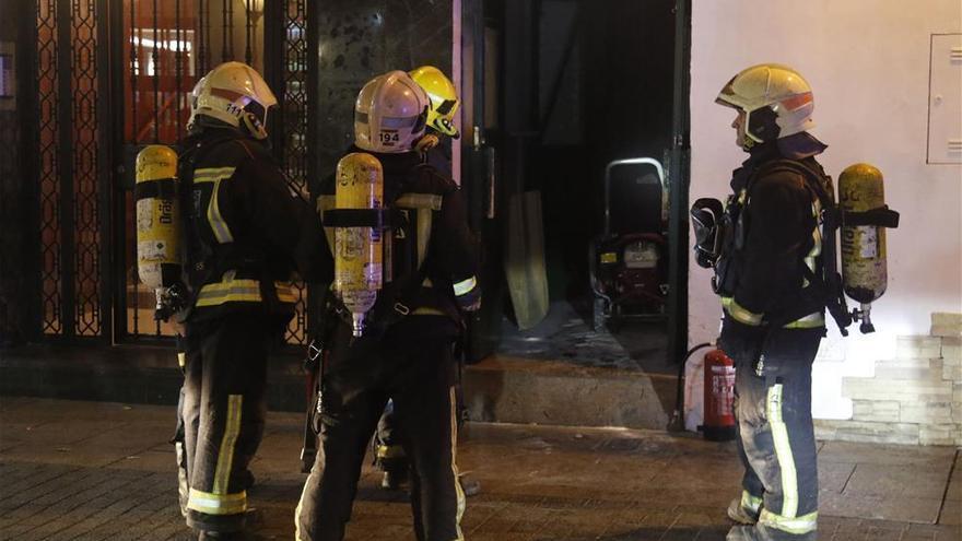 Una explosión en un cuarto de contadores sobresalta a los vecinos del Santuario