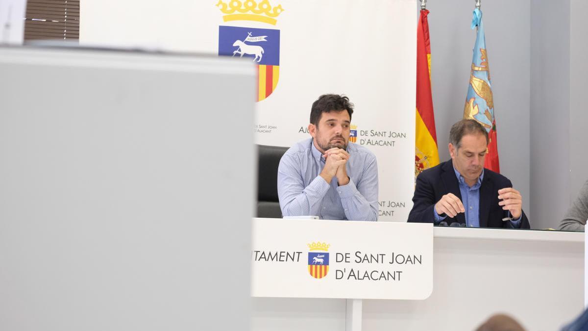 Cs Sant Joan acusa al PSOE de «intentar endeudar al Ayuntamiento» con las obras de Nou Nazareth y confirma la crisis del bipartito