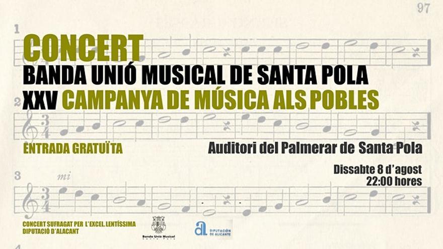 La Banda Unió Musical Santa Pola