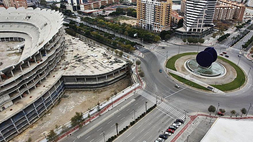 El Rialto advierte de que no habrá más prórrogas para acabar el nuevo Mestalla