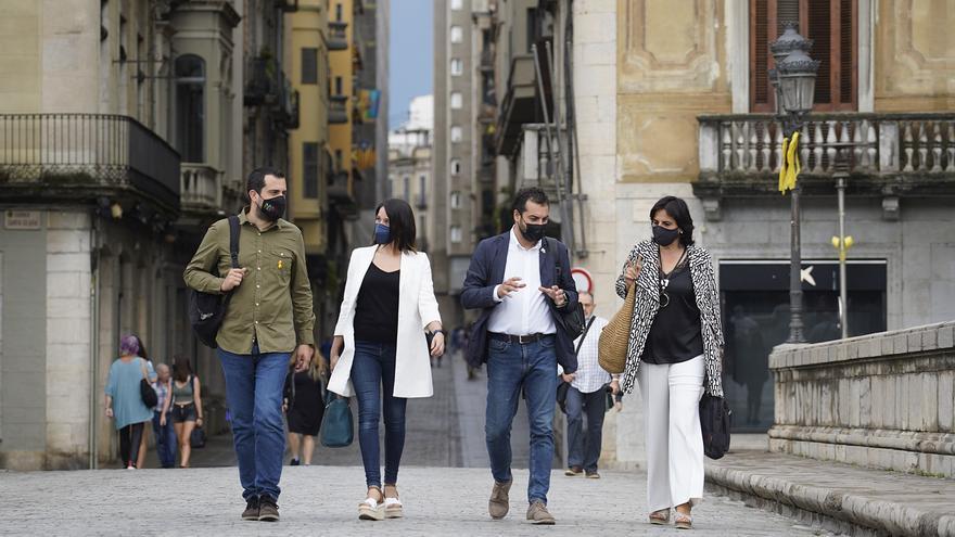 """ERC defensa el seu paper per """"desencallar projectes"""" en el primer any al govern de Girona amb JxCat"""