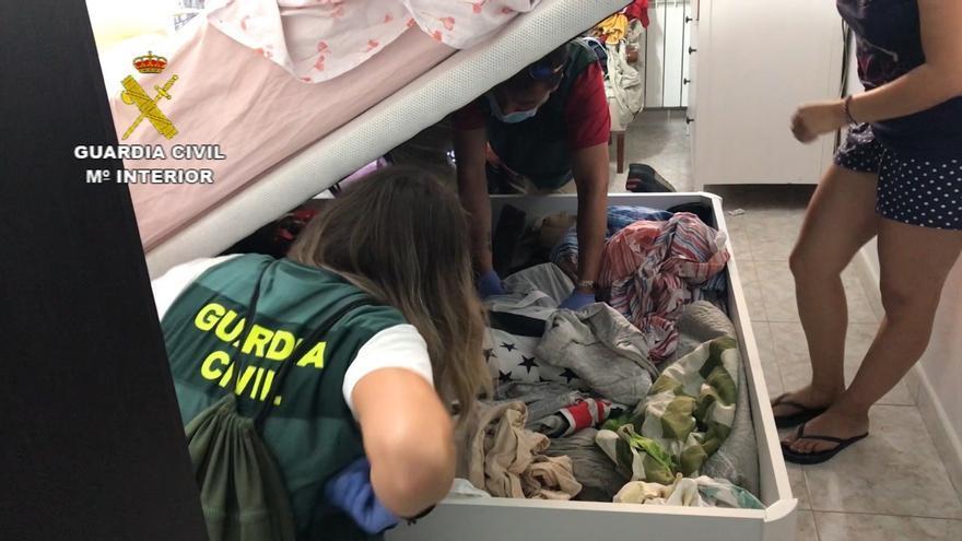 La Guardia Civil desarticula una trama de trata de seres humanos en Huesca