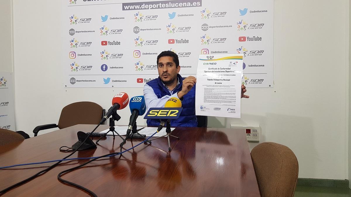 Las empresas Os Ventos y Sima gestionarán las instalaciones deportivas municipales de Lucena