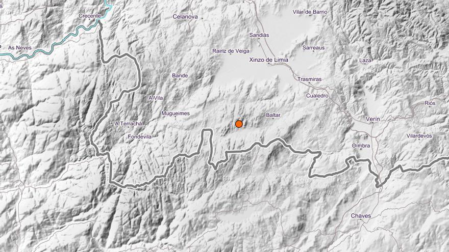 Un terremoto sacude el sur de Galicia