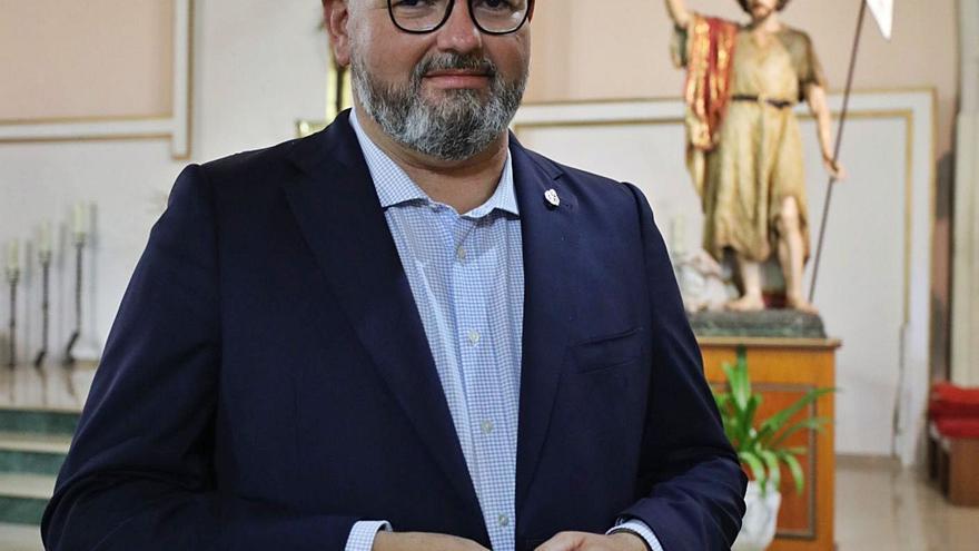 Joaquín Martínez: «La Semana Santa de Elche tiene que abrirse y que la gente pase de mirar las procesiones a participar»