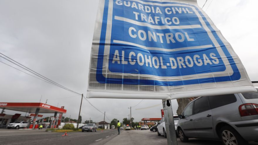 Los controles viales por consumo de droga llegan a Mieres, con mil euros de multa