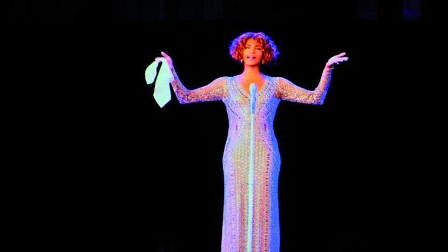 Whitney vuelve como holograma a Madrid