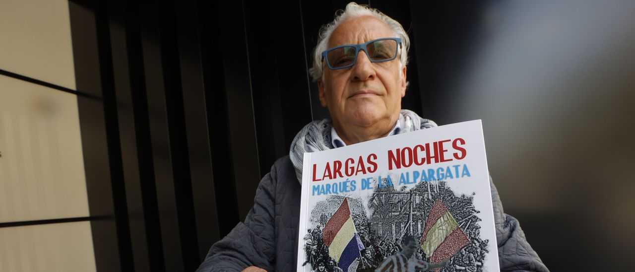 Lucio Marqueta, con su libro