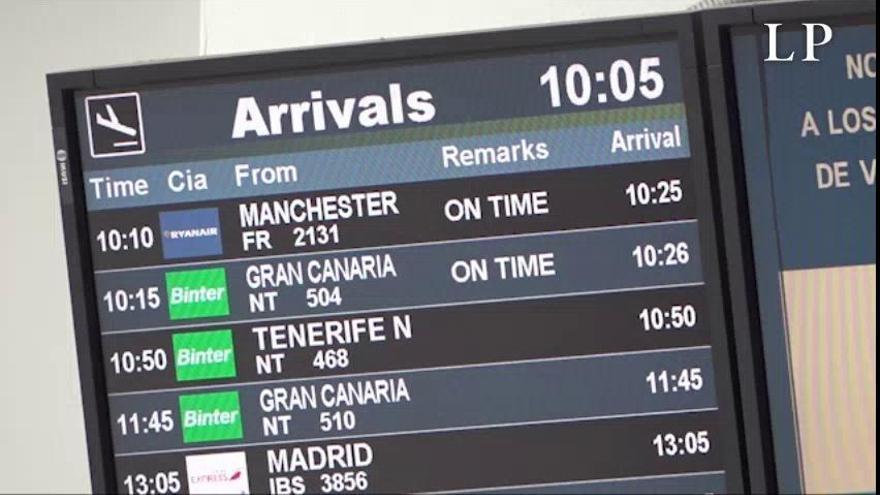 Ryanair trae a Lanzarote los primeros turistas británicos tras el estado de alarma por el coronavirus