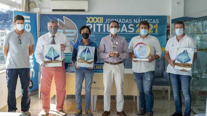 50 embarcaciones y 350 deportistas en las XXXII Jornadas Náuticas Pitiusas