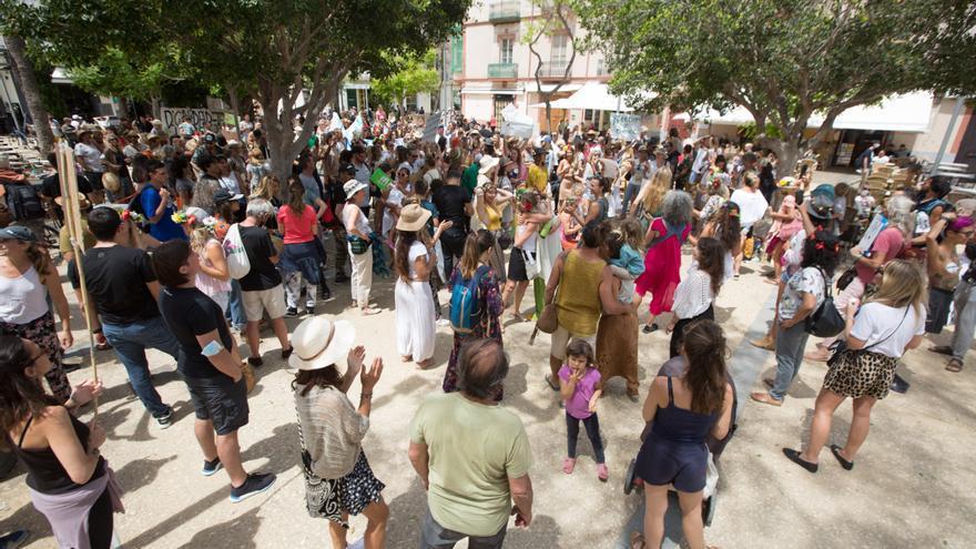 """Manifestación en Ibiza para """"reclamar libertad"""""""