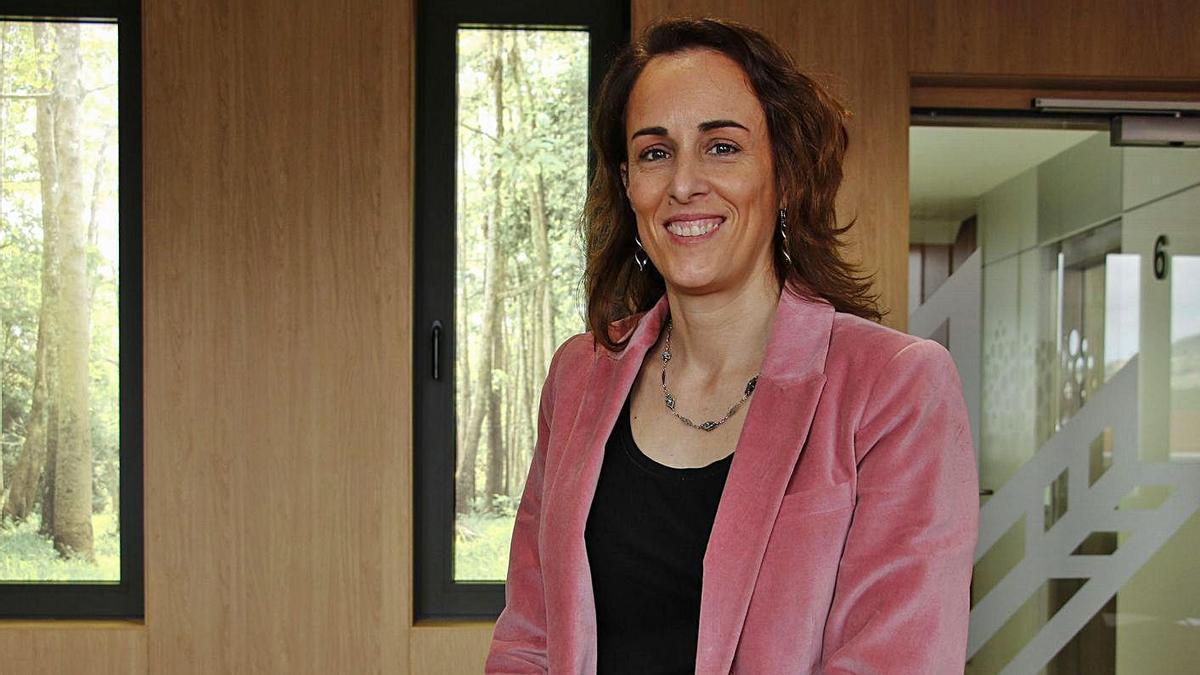 Beatriz Álvarez González, responsable del Área de Negocio Internacional de Caja Rural. | Pablo Solares