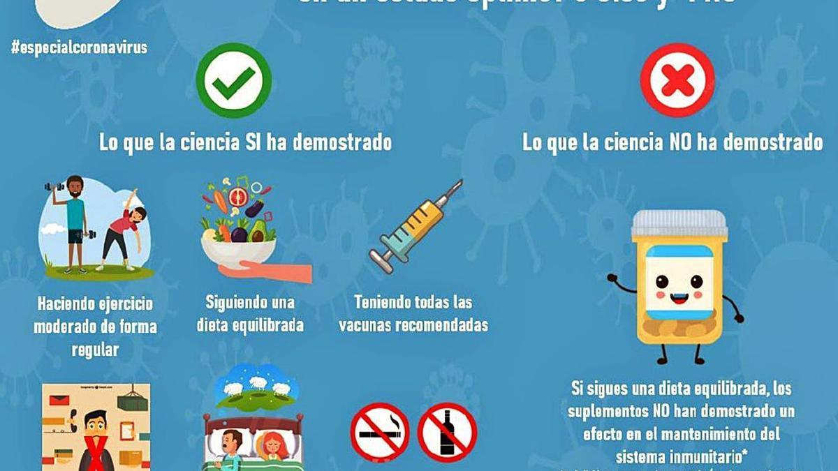 Claves para mantener el sistema inmune a raya |                                                                                                                                                SOCIEDAD ESPAÑOLA DE INMUNOLOGÍA / JESÚS GIL-PULIDO