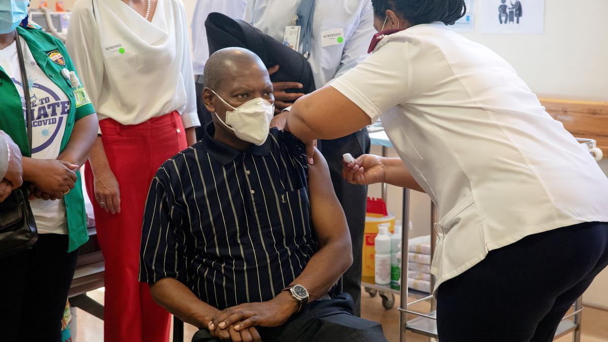Vacunación contra la Covid-19 en Sudáfrica.
