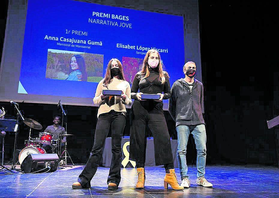 Anna Casajuana i Elisabet López, Premi Bages de Narrativa Jove