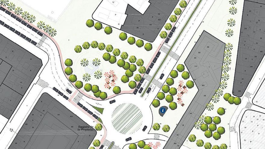 Alzira extiende la peatonalización  a la segunda gran plaza del centro