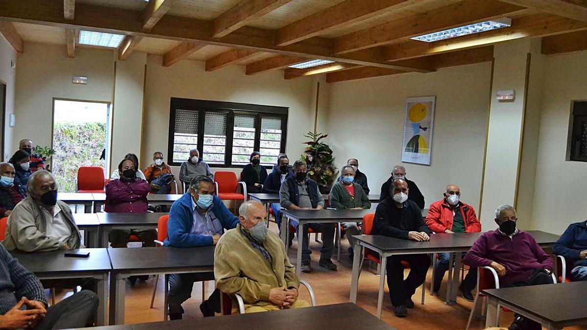 Alcaldes de la mancomunidad de Sanabria-La Carballeda en el último pleno. | A. S.