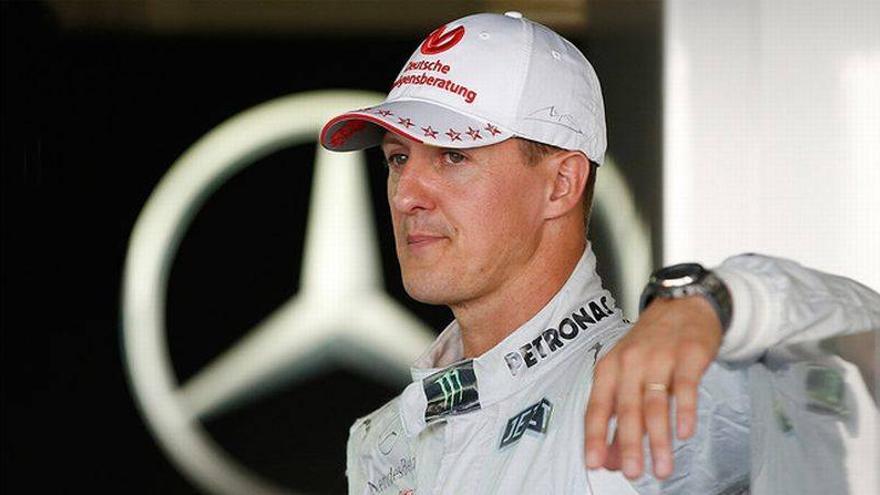 Schumacher se comunica con los ojos y empieza a reconocer a sus familiares
