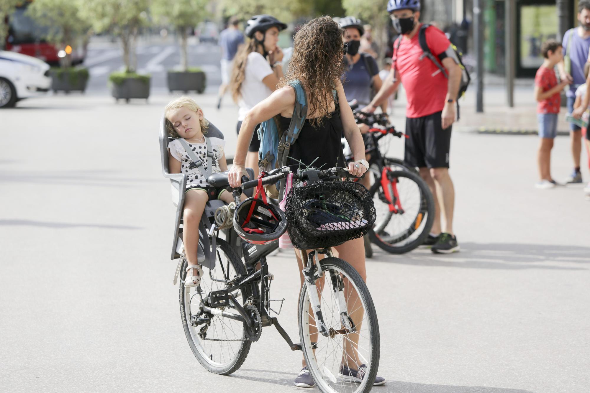Así ha sido el día de la bici en València