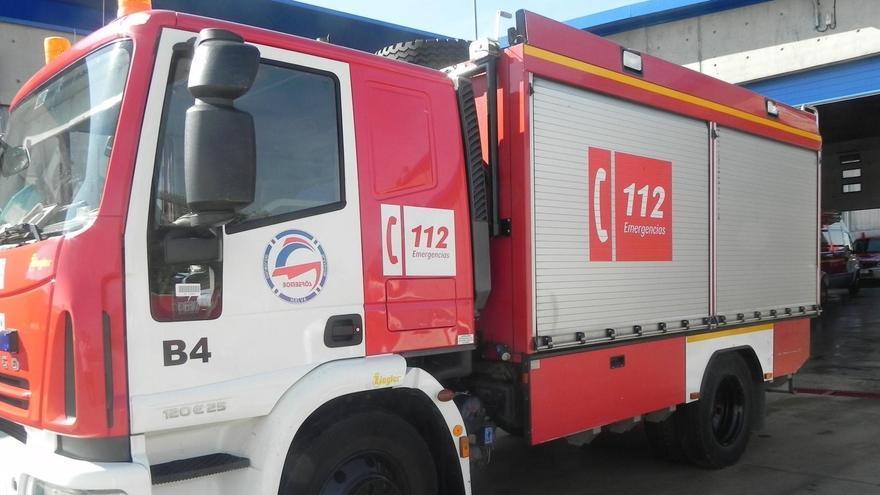 Una imagen de archivo de un camión de bomberos