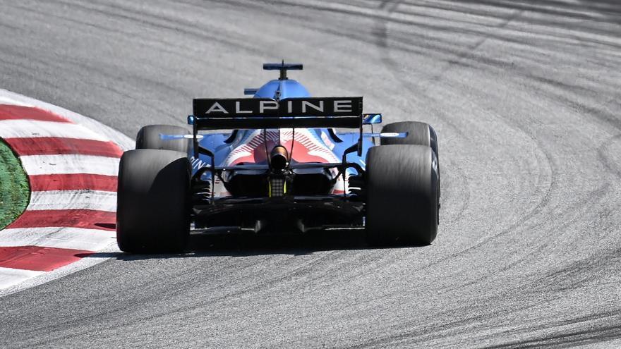 Alonso y Sainz saldrán 14º y 11º en el GP de Austria