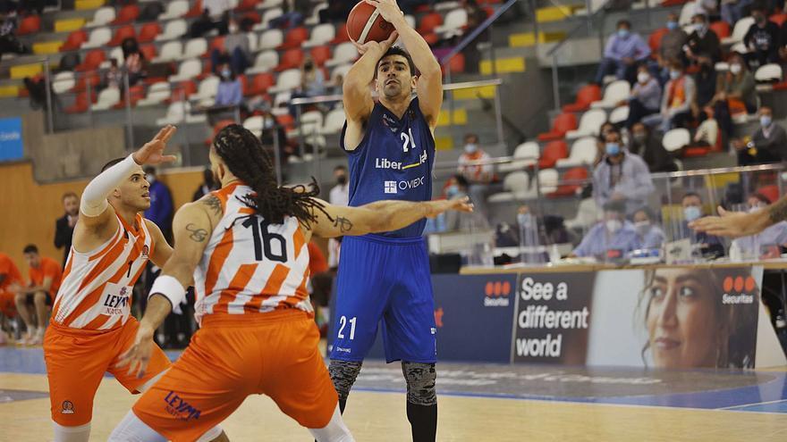 El Liberbank Oviedo Baloncesto, a empatar el play-off de ascenso a la ACB: Se buscan piernas frescas
