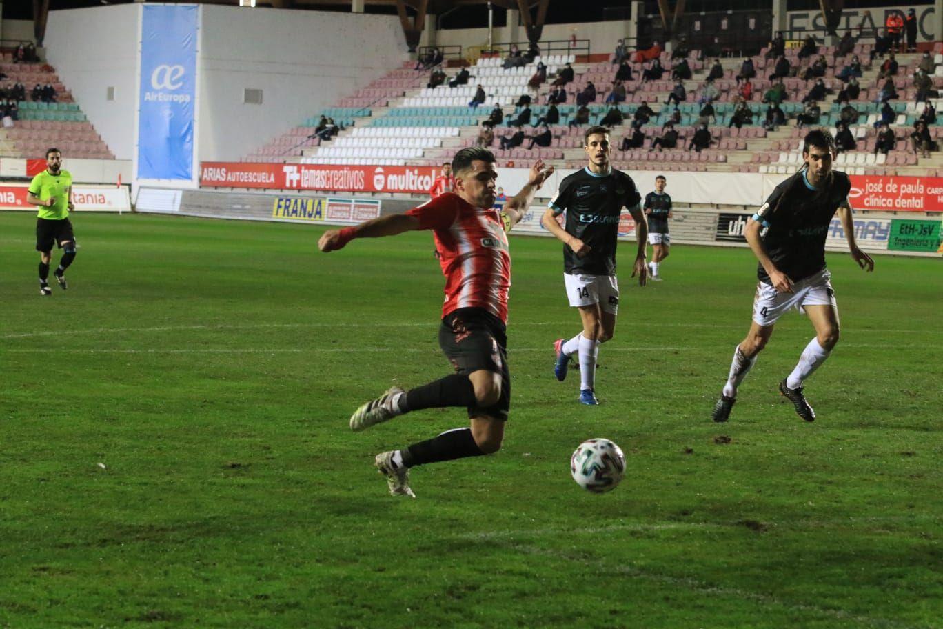 Copa del Rey | Las mejores imágenes del Zamora CF y el SD Logroñés