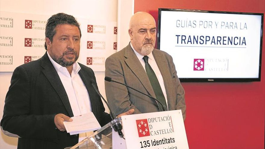 Castellón es una provincia líder en transparencia de las instituciones