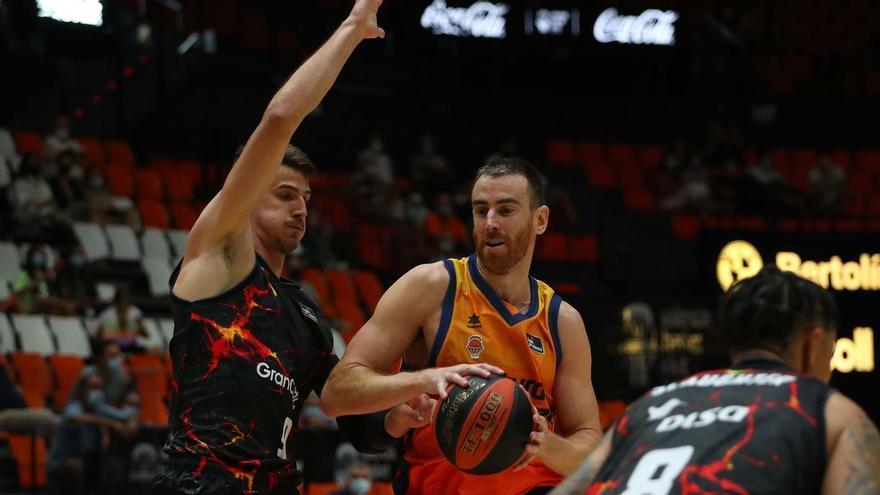 El Granca juega con lava ante el Valencia (79-72)