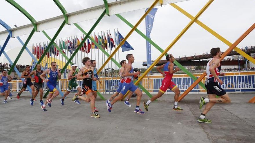 El Mundial de duatlón se disputará por segunda vez en Avilés, afianzada como organizadora de eventos deportivos