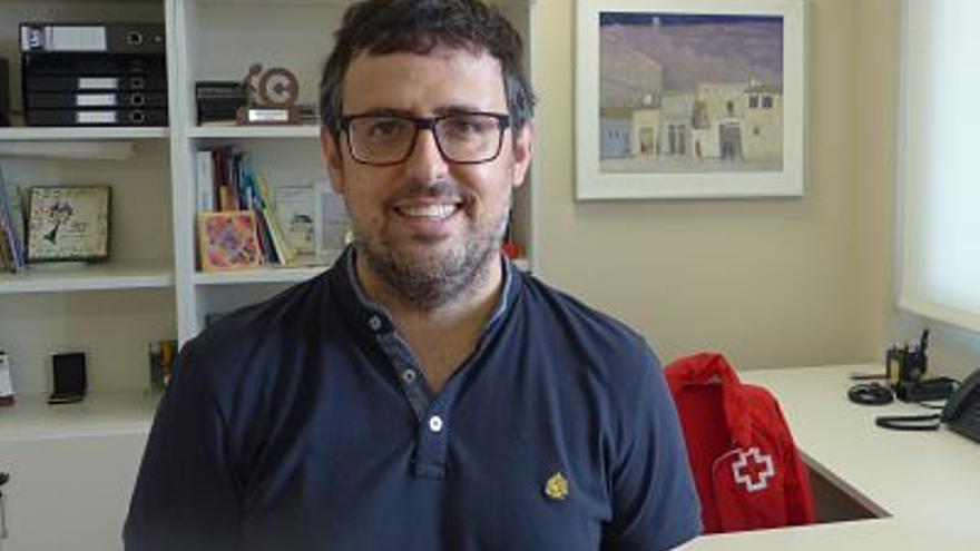 Esteban Fortea, nuevo presidente de Cruz Roja en Castellón