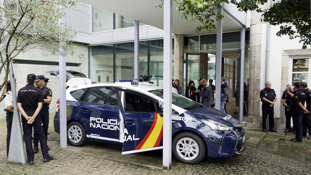 Comisaría de la Policía Nacional de Vigo / Marta G. Brea
