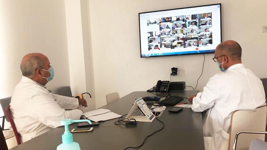 Ribera Salud le dice a Ximo Puig que los hospitales del Vinalopó y Torrevieja pueden aliviar a centros saturados