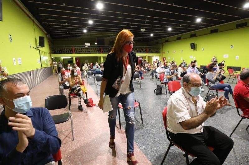Clausura de la XI Conferencia Sindical de UGT FICA en PSA Opel España