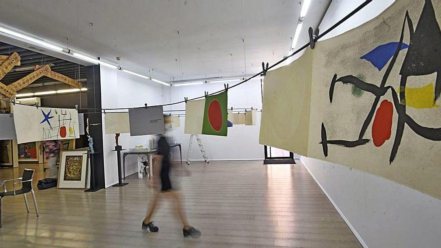 La 'Rut-Art' continúa con Joan Miró